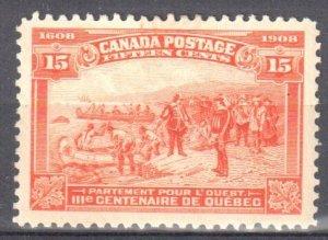 Canada #102 Mint F-VF OG LH C$275.00