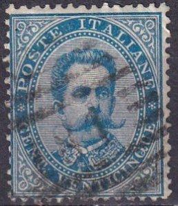 Italy #48 F-VF Used CV $7.25  (Z3218)