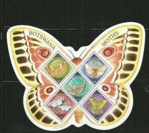 BOTSWANA 2000 BUTTERFLIES SCOTT 692A MNH SCV $17
