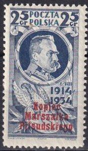 Poland #293 MNH  CV $8.00 (Z8385)
