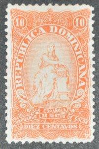 DYNAMITE Stamps: Dominican Republic Scott #104 – MINT hr