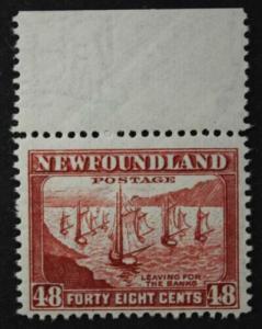 Newfoundland 48c #266, MNH OG, Perf 12.5