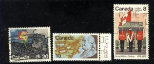 Can #690-92   used VF 1976 PD