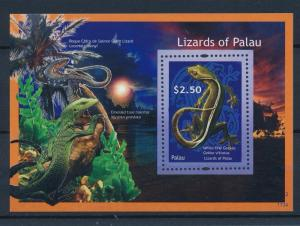 [35345] Palau 2012 Reptiles Lizards Gecko MNH Sheet