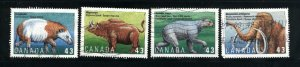 Canada #1529-32   -4   used VF 1994  PD