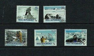 Ross Dependency: 2006, 50th Anniv. New Zealand Antarctic Programme, MNH set