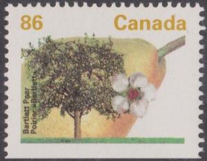 Canada - 1994 Bartlett Pear Ex Booklet VF-NH #1372ics
