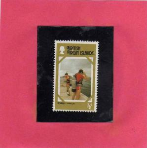 BRITISH VIRGIN ISLANDS ISOLE VERGINI BRITANNICHE 1977 TOURISM TURISMO MNH