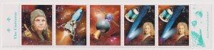 Korea 2001 Space  (MNH)  - Space, Spaceships, Yuri Gagarin