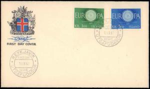 Ireland, Worldwide First Day Cover, Europa