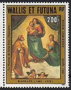 WALLIS & FUTUNA 1983 Christmas MNH.........................................63584