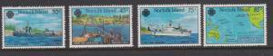 Norfolk Island 1983 World Communication Year Sc#319-322 MNH