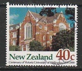 1999 New Zealand - Sc 1585 - used VF - 1 single - Victoria University
