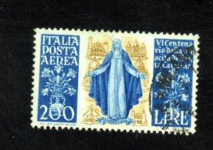 Italy #C128 Used FVF Cat$22