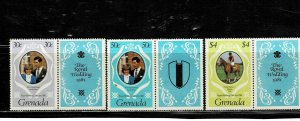 Grenada 1981 Royal Wedding MNH