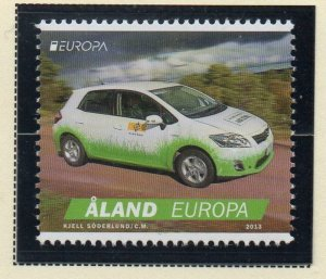 Aland Finland Sc 341 2013 Europa stamp mint NH