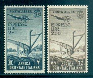 Italian East Africa #CE1-CE2  MNH  Scott $38.00