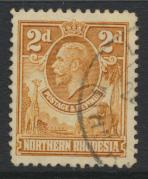 Northern Rhodesia  SG 4 SC# 4 Used  - see details