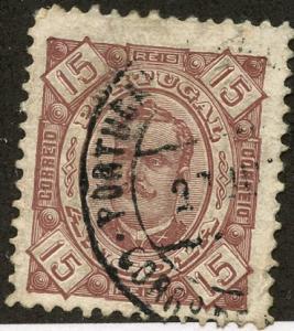 Angola, Scott #27, Used