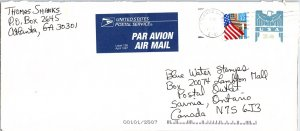 United States, Georgia, United States Postal Stationary, Foreign Destinations...