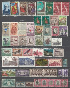COLLECTION LOT # 55L SOUTH AFRICA 96 STAMPS CLEARANCE