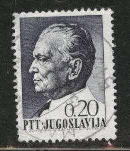 Yugsolvaia  Scott 924 used stamp