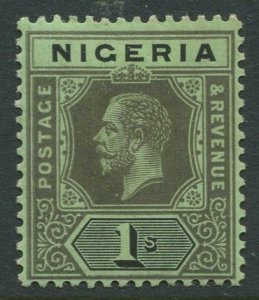 STAMP STATION PERTH Nigeria #8 KGV Definitive MVLH 1914-27