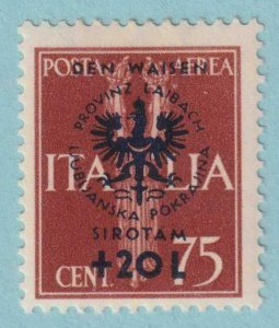 YUGOSLAVIA  - ITALIAN OCCUPATION NB11  MINT HINGED OG * NO FAULTS VERY FINE!