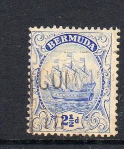 BERMUDA #87  1932  2 1/2p CARAVEL    F-VF USED  a