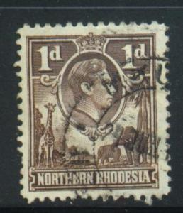 Northern Rhodesia Sct # 27; Used