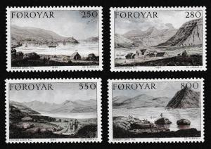 Faroe Is. Stanley's Expedition to the Faroes 1789 SG#109-112 SC#121-124