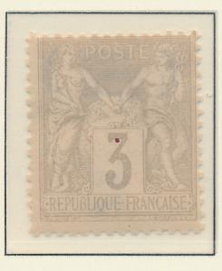 France Stamp Scott #97, Mint Hinged - Free U.S. Shipping, Free Worldwide Ship...