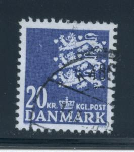 Denmark  811  VF  Used
