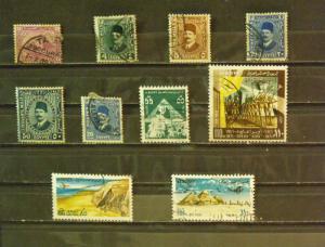 3791   Egypt   Used   # 49 // 900, C139, C147, C148     CV$ 9.80