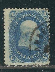US 63 Used Avg 1861 SCV $45.00