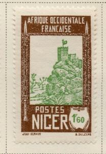 Niger 1939-40 Early Issue Fine Mint Hinged 1.60F. 324849