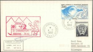 French Southern & Antarctic Territory #216, Antarctic Cachet and/or Cancel