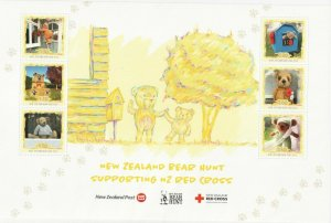 2020 NEW ZEALAND  SG: MS N/A - BEAR HUNT - RED CROSS - UNMOUNTED MINT