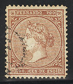 Spanish Area-Fernando Po Postage Stamps Catalog No 1, Used