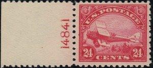 U.S. C6 VF NH Plate Sgl. (101419)
