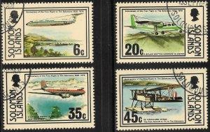 [13837] Solomon Islands # 341 - 44 Used