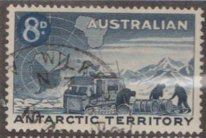 Australian Antarctic Territory Scott #L2 Stamp - Used Single