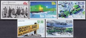 New Zealand #2105-9 MNH CV $9.85 (A19317)