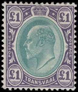 Transvaal Scott 252-266 Gibbons 244-258 Mint Set of Stamps