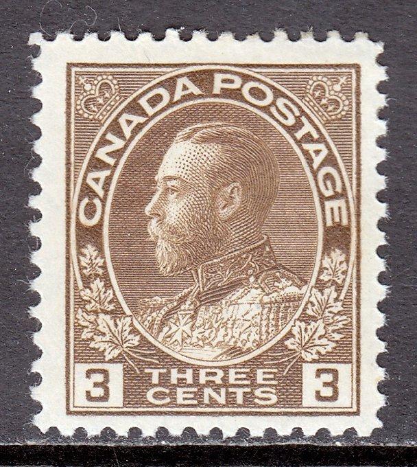 Canada - Scott #108c - MH - Light thinning - SCV $16