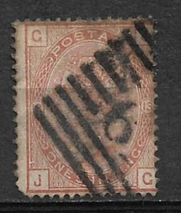 COLLECTION LOT #648 GREAT BRITAIN # 87 PT 13 1881 CV=$165