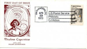 US FDC #1488 Copernicus Unofficial , (6879) (56)ab