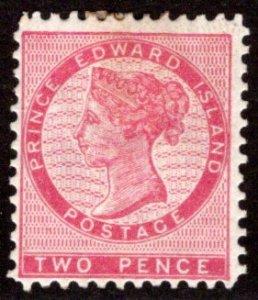 Scott 5, PEI, Prince Edward Island, Canada, G/VG, p.12, MHOG, QV, 1862-1865