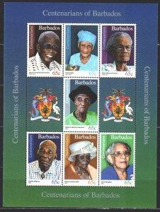 Barbados. 2016. SC 1314-20. Old residents of Barbados. MNH.