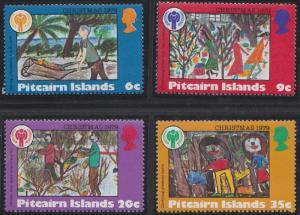 Pitcairn Islands 188-191 MNH (1979)